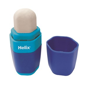 Helix 1 Hole Duo Eraser & Sharpener