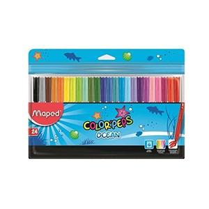 Colour Pep Felt Tip Ocean x24