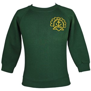 Sweatshirt Roundneck St. Clements & St. James P.E.