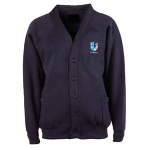 Cardigan Sweatshirt St Mary's Catholic Federation (MADE TO ORDER)