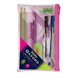 Oxford Clash Filled Pencil Case