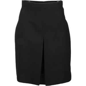 A-Line Inverted Pleat Adjustable Skirt - Front
