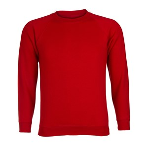 SweatshirtRoundneck-cotton-Red
