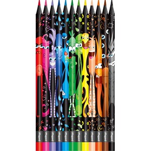 Maped Color Peps Monster Design Colouring Pencils