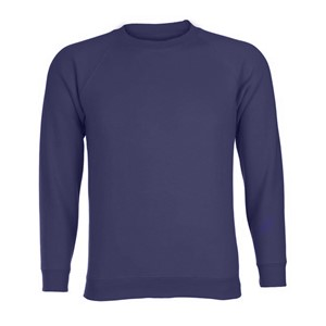 Sweatshirt Roundneck 50% Poly / 50% Cotton