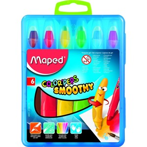 Smoothy Gel Crayons x6 836111