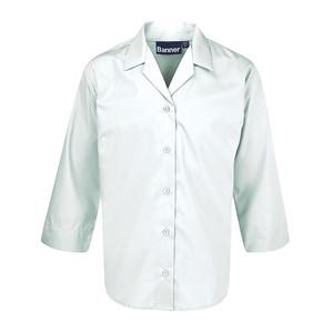 Blouses Non Iron 3/4 Open Fitted - Twin