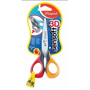 Sensoft Scissors 3D 13cm - Left Handed