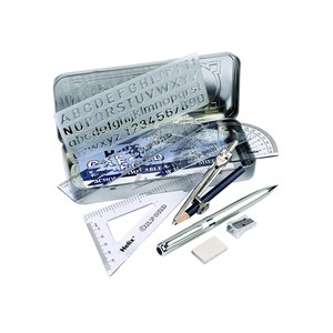 Premium Oxford Maths Set & Ballpoint Pen
