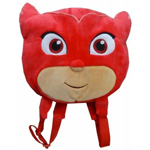 PJ Mask Flat Head Plush Backpack