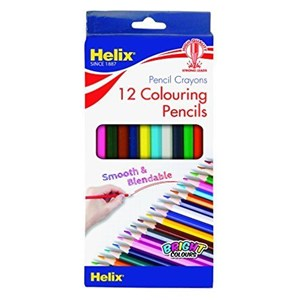 COLOURING PENCILS 7 IN. 12'S