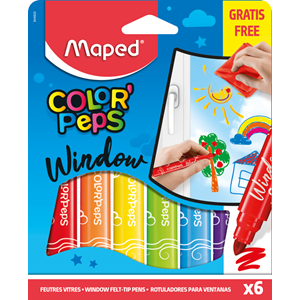 Maped Color Peps Window Felt Pens