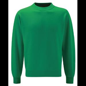 Sweatshirt Roundneck 50% Poly / 50% Cotton